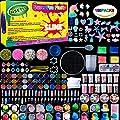 Unicorn Slime Supplies Kit,155 Pack, Include Jelly Cube, Foam Balls, Glitter Jars, Fruit Flower Animal Slices, Pearls, Slime Tools for DIY Slime Making, Homemade Slime, Girl Slime Party