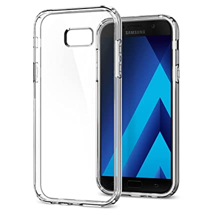half off 48e1b 6f404 Galaxy A7 2017 Case, Spigen Ultra Hybrid - Air Cushion Technology and  Hybrid Drop Protection for Samsung Galaxy A7 (2017) - Crystal Clear