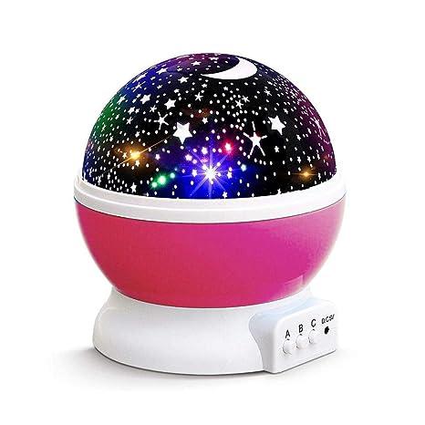 xiak Estrella Cielo de proyección, LED 360 ° grados Giratorio ...