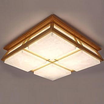 Japanischen Stil Holz Schlafzimmer Lampe Gemutliche Wohnzimmer