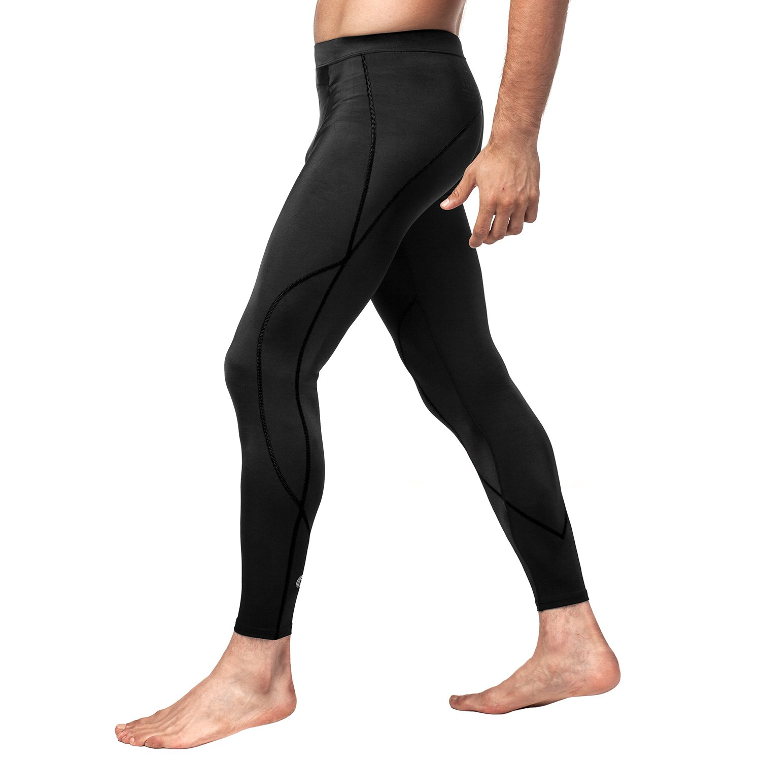 Amazon.com: LAPASA Mens Workout Compression Pants (Tights ...