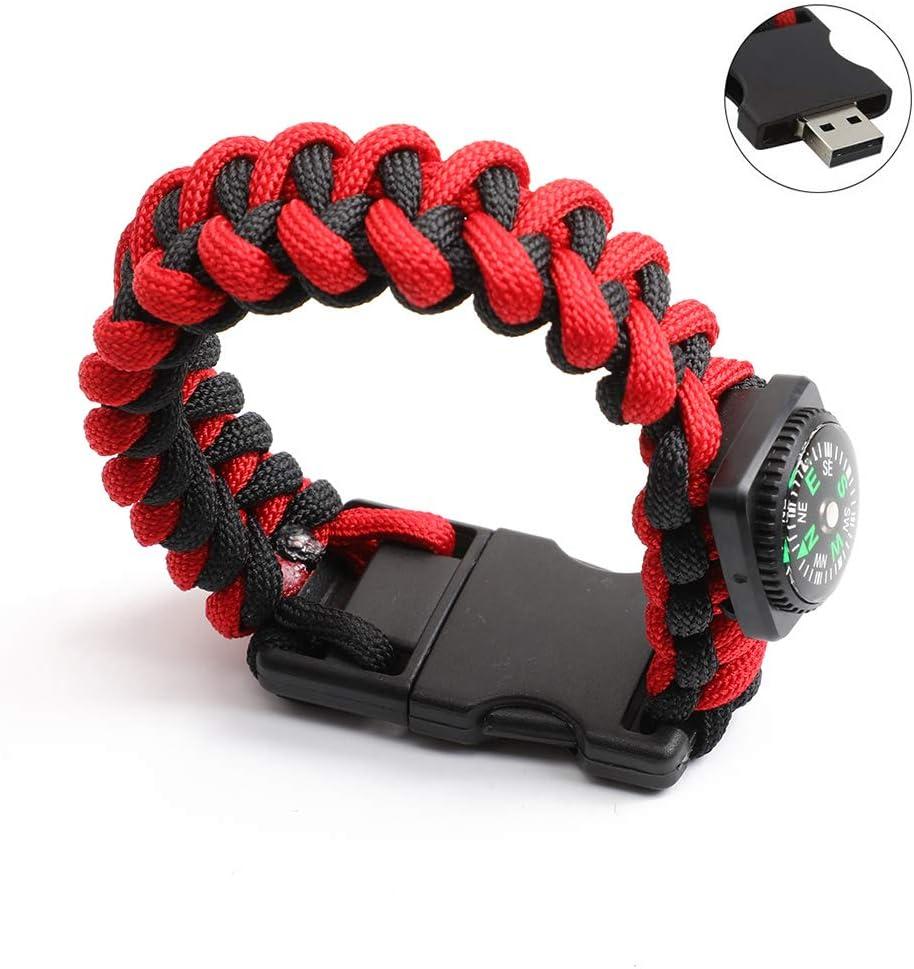 DESTINLEE Bracelet Compass USB Flash Drive 8-128GB Aluminum Alloy Mini Mobile Storage Tray Bracelet