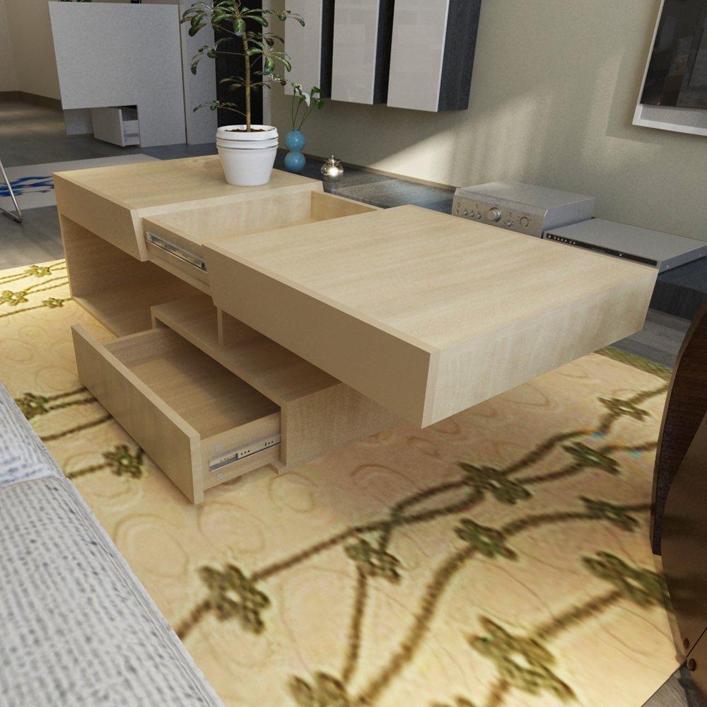 簡約現代客廳茶幾板式餐桌家具茶桌咖啡茶學習桌顏色多選e0環保板現
