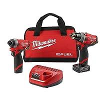 Deals on Milwaukee M12 FUEL Li-Ion Hammer Drill & Impact Driver