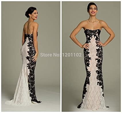 Vestidos De Festa 2015 New Arrival Party Dresses Strapless Evening Dress Romantic Lace Vestido De Festa