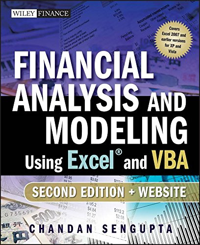 Financial Analysis and Modeling Using Excel and VBA ISBN-13 9780470275603