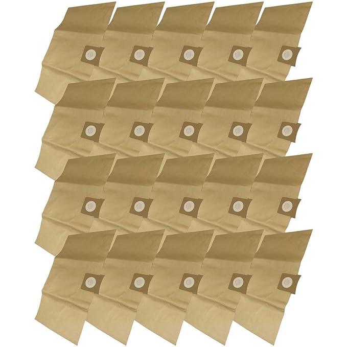 22 10x Filtertüte für AquaVac Hobby 11 24