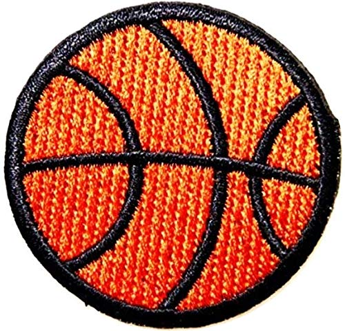 - Basketball Ball NBA sport patch Iron on Logo Vest Jacket cap Hoodie Backpack Patch Iron On/sew on pa