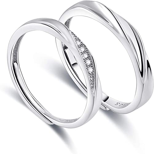Gnzoe Women Wedding Rings Band Love Promise Witness Crown Rings For Couple 6MM Price One Pc