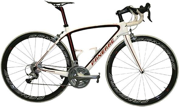 PANERAE Cuadro de Bicicleta Fibra de Carbono Ainielle Rojo Talla 55 (Incluye tija y Horquilla a Juego) 1150grs: Amazon.es: Deportes y aire libre