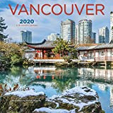 Vancouver 2020 7 x 7 Inch Monthly Mini Wall Calendar, Canadian Regional Travel Canada