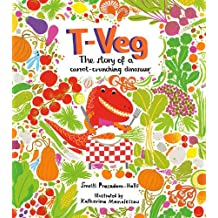 T-Veg: The Tale of a Carrot Crunching Dinosaur