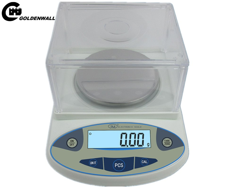 CGOLDENWALL High precision analytical electronic balance, analytical laboratory jewelry scalesprecision gold scalesClark scales kitchen precision weighing electronic scales 0.01g (300g, 0.01g)