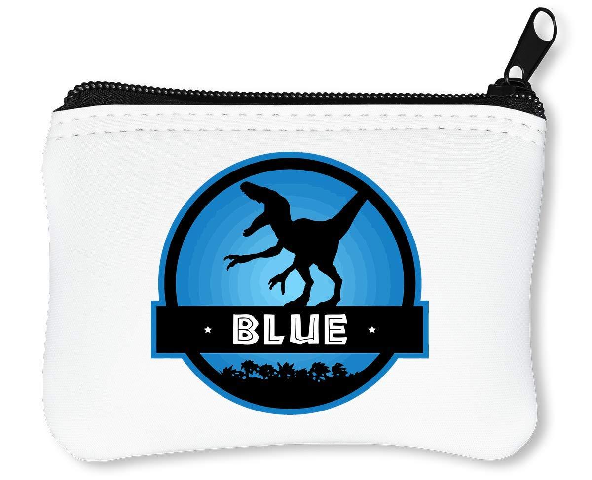 Velociraptor Blue Squad Billetera con Cremallera Monedero Caratera ...