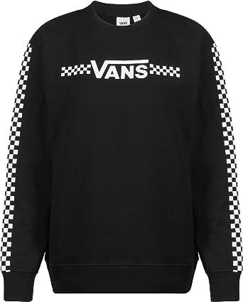 911a1f742b95b5 Vans Funnier Times W Sweater Black: Amazon.de: Bekleidung