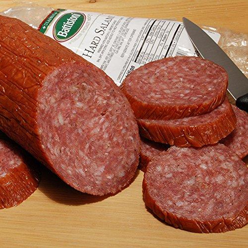 Smoked Salami - Battistoni Classic Italian Hard Salami, 10oz