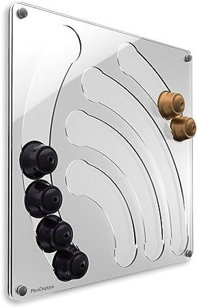 Plexidisplays 2011 04 003 Support Mural Pour Capsules Dolce Gusto Motif Chute D Eau Transparent 41 X 40 Cm Amazon Fr Cuisine Maison