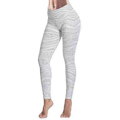 Bulingling Leggings for Women Yoga High-Waist Tummy Control Workout ... ec031a922c12