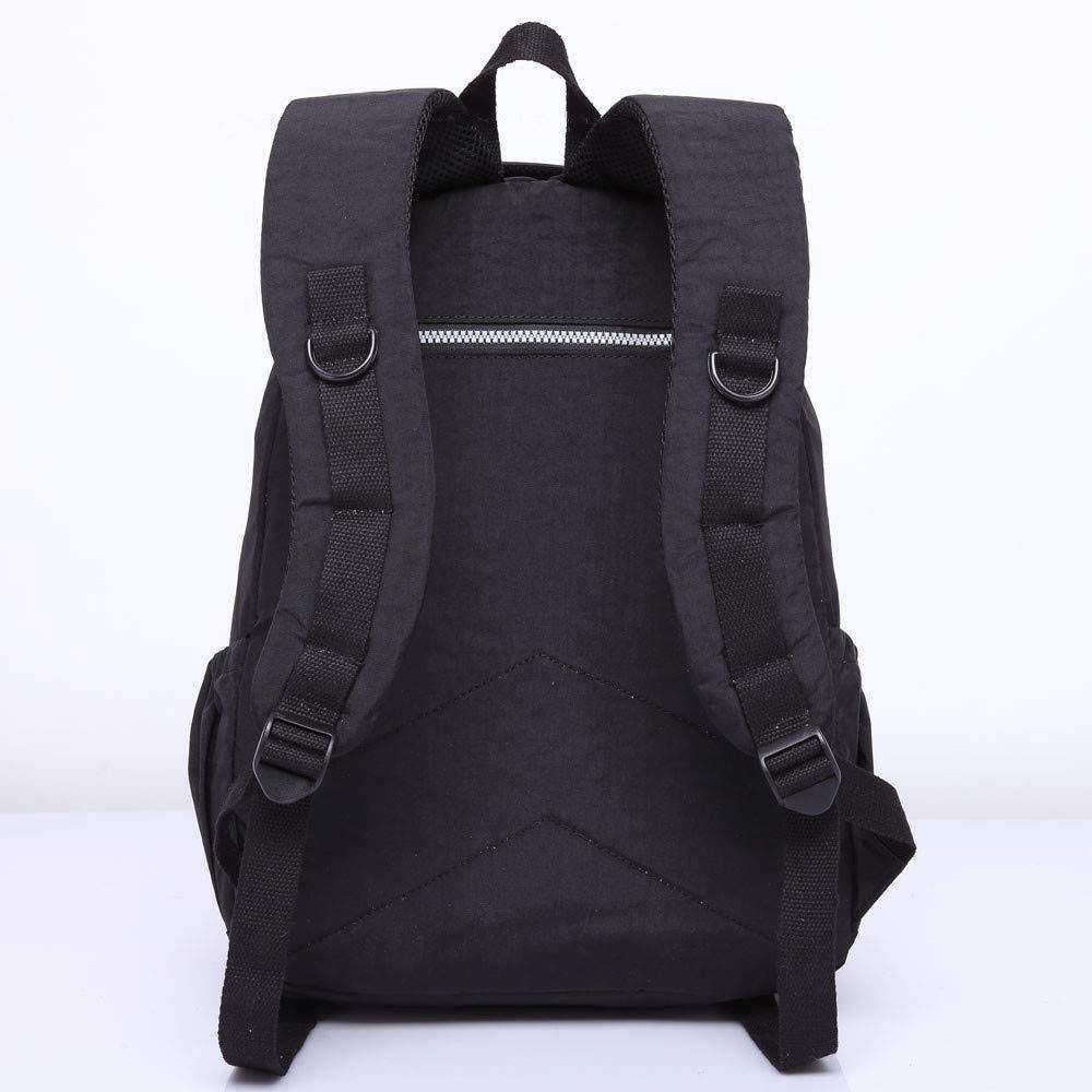 f1b8e3fd58 Amazon.com  Female Backpack Women School Backpack for Teenage Girls Laptop Bagpacks  Travel Bags Casual Bagpacks (Black)  BLMART