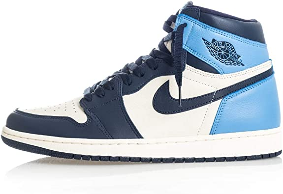 air jordan 1 high blue white