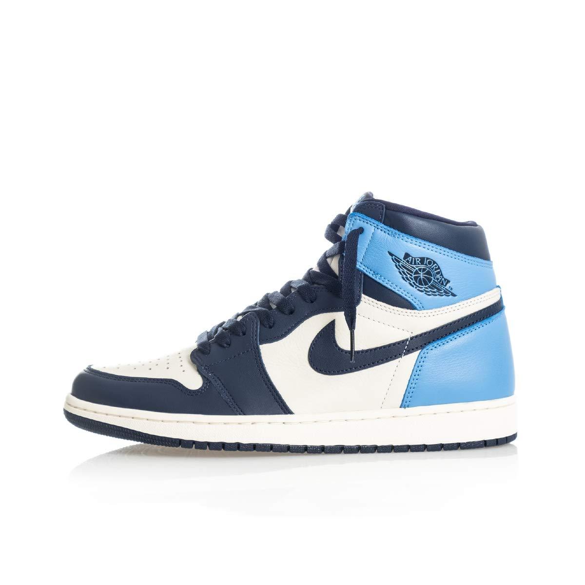 """Jordan Men's Air Jordan 1 Retro High OG """"Obsidian/University Blue"""""""