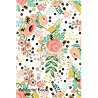 Address Book: Pink Floral Design | Birthdays & Address Book for Contacts, Addresses, Phone Numbers, Email, Alphabetical Organizer Journal Notebook (Address Books)