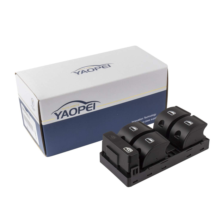 YAOPEI Interrupteur de Commande pour Vitres Electriques de Voiture 8E0959851B