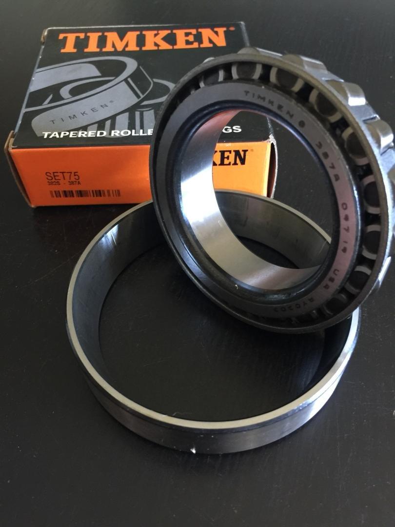 Timken Bearing /& Cup 387A 382S Set 75