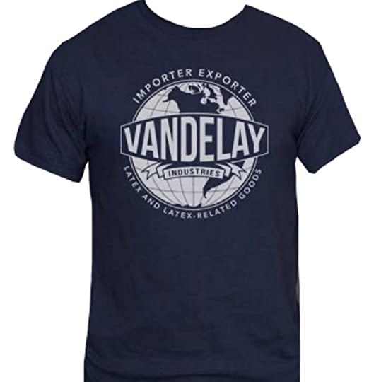 Vandelay Industries T Shirt Funny From Seinfeld Small Black