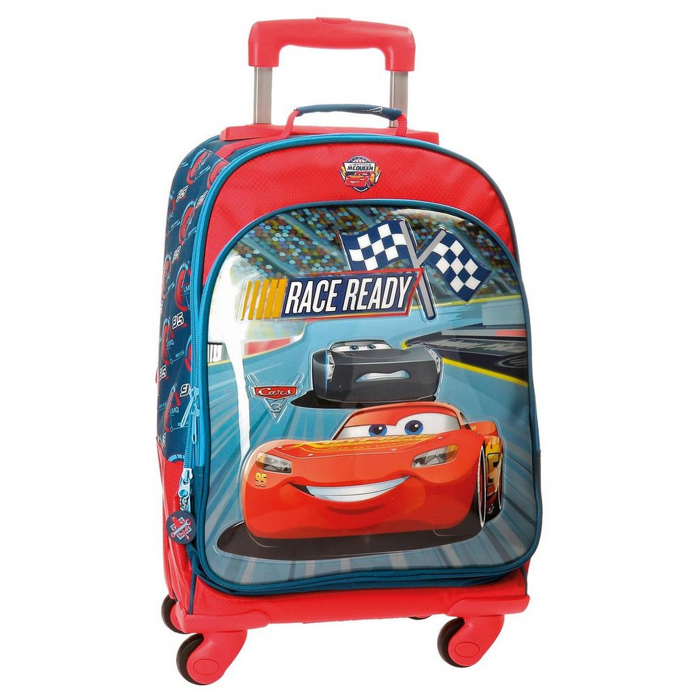 Disney Race Mochila Escolar cm  Litros Multicolor