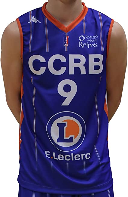 Kappa Baloncesto CCRB champán Chalons Reims réplica – Camiseta de Baloncesto para Hombre: Amazon.es: Ropa y accesorios