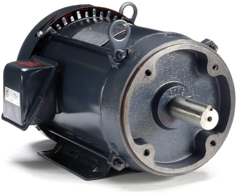 3 hp 1200 RPM 213TC Frame TEFC C-Face (Rigid Base) 230/460V Marathon Electric Motor # GT1211A