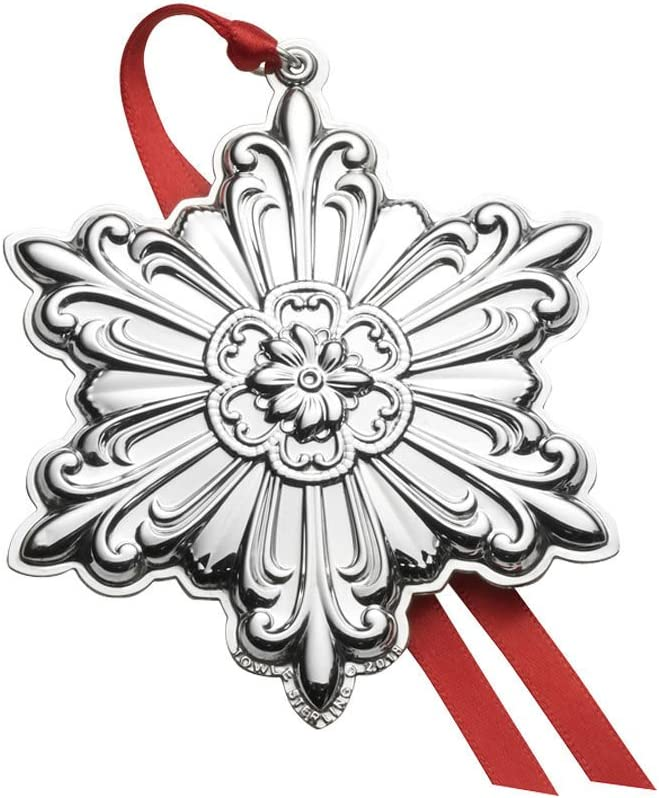 Towle 2018 Old Master Snowflake Sterling Silver Christmas Holiday Ornament, 29th Edition