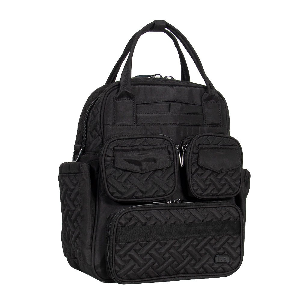 Lug Mini Puddle Jumper Shoulder Messenger Bag, Firework Black, One Size (Model: MINI PUD JUMP-FIREWORK BLACK) LUGCA