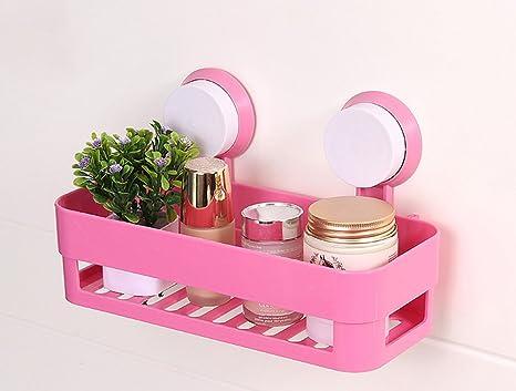 Simplee cucina plastica galleggiante mensole doccia quadrato caddy