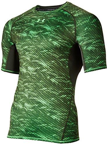 Under Armour Men's HeatGear Armour Printed Short Sleeve