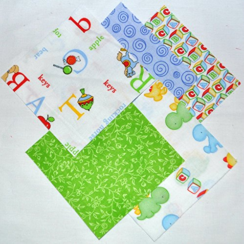 quilting squares baby boy - 1