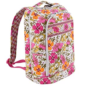 Vera Bradley Laptop Backpack in Tea Garden