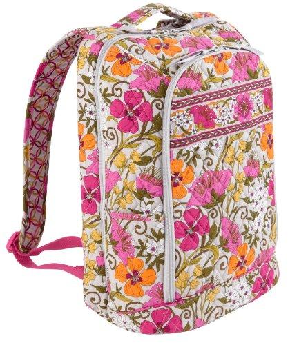Vera Bradley Laptop Backpack in Tea Garden