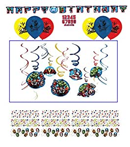 Cumpleaños Decoración Sets Avengers//Happy Birthday/Fiesta ...