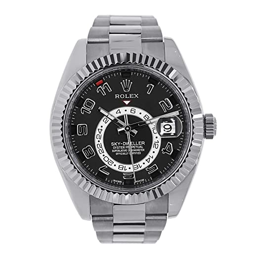 Amazon.com NEW Rolex Sky Dweller 18K White Gold Mens watch