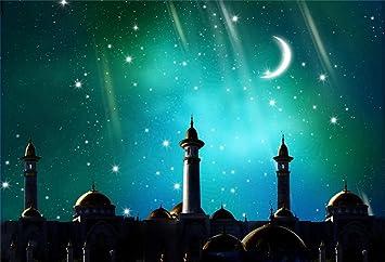 Amazon Com Leyiyi 5x3ft Ramadan Kareem Backdrop Islam Building