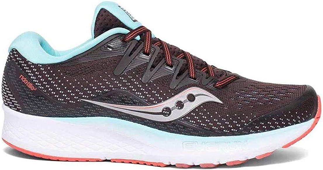 Saucony Ride ISO 2 Brown/Coral, Zapatillas de Atletismo para Mujer ...