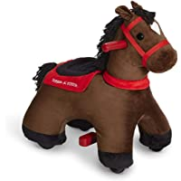 Radio Flyer Lightning Electric Riding Horse Toy with 6V Battery, Ride-On Rolling Animal Toy,