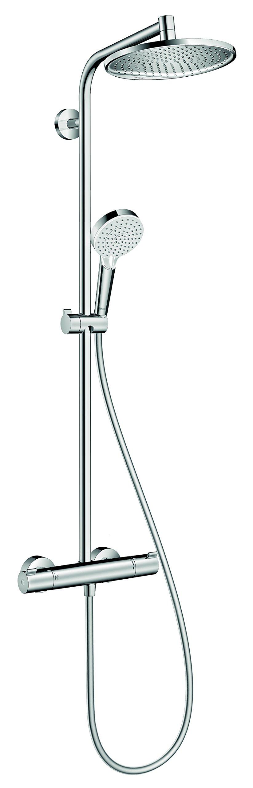 Hansgrohe Showerpipe Crometta S 240 chrom, 27267000