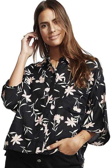 BILLABONG™ Isa Island - Camisa Holgada con Botones para Mujer ...