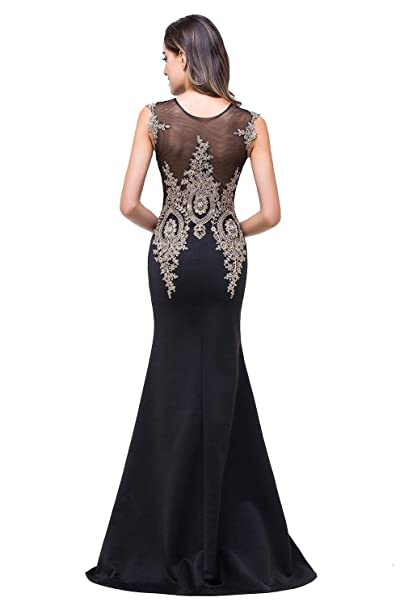 Babyonlinedress Babyonline Womens Elegant Embroidery Lace Mermaid Formal Evening Prom Dresses at Amazon Womens Clothing store: