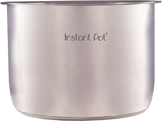 Genuine Instant Pot Stainless Steel Inner Cooking 3,6,8 Quart Pressure Cooker