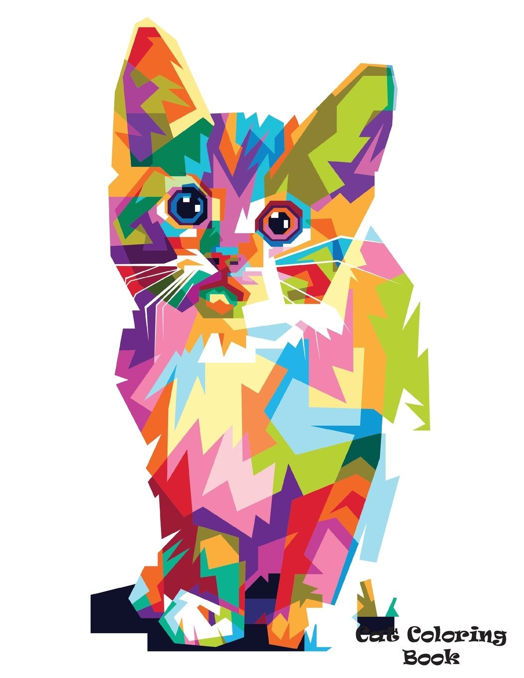 87+ Coloring Book Page Cat HD