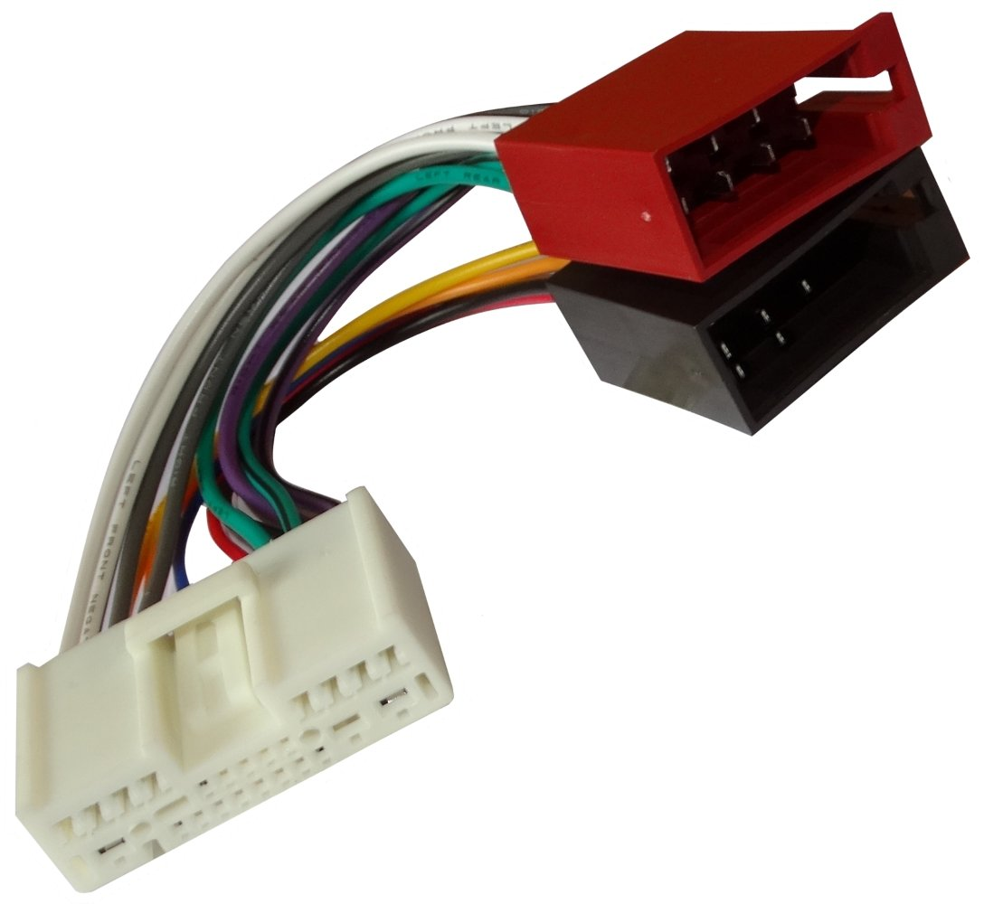 Aerzetix Fascio adattatore cavo cablaggio spina ISO per autoradio .